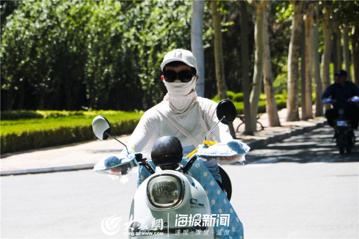 5月23日,欧博娱乐最高气温达到37℃,这突如其来的高温,让人一时间还不太适应。(大众网・海报新闻记者 赵凤瑞 摄)