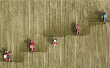 """农业合作社为土地当""""保姆"""",为农户提供耕、种、管、收等系列服务。_副本.jpg"""