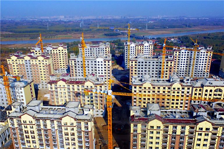 铁营镇高标准建设的兴隆社区,未来将容纳6个村的拆迁居民。.jpg