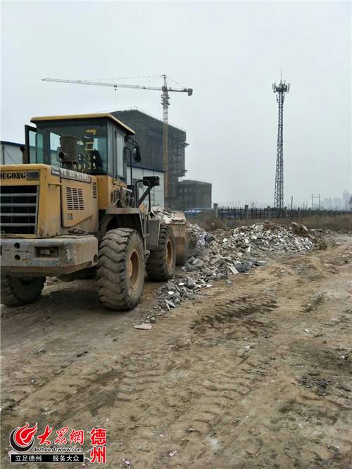 宁津市民举报垃圾 熏醉 路人城管快速反应提升 净化 水平