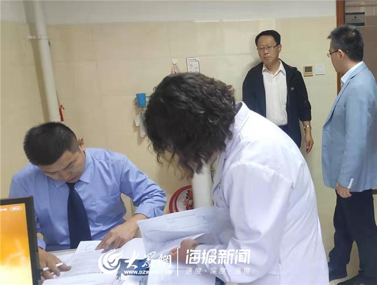 德州市卫健委对宁津医疗废物处置进行专项检查
